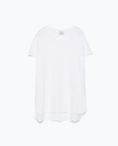 ZARA - WOMAN - BASIC T-SHIRT Back To Work, Zara United States, New Week, Zara Women, What To Wear, Mens Tops, T Shirt, Fall 2015, Woman