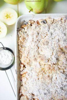 jabłka pod kokosowo-owsianą kruszonką (5) Healthy Cake, Healthy Sweets, Healthy Baking, Sweet Recipes, Cake Recipes, Cooking Time, Cooking Recipes, Baked Goods, Good Food