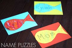 Toddler Approved!: Easy and Colorful Name Puzzle for Preschoolers