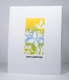 You Blend OLS13 Heather Telford     Stamps: Snippets (PB) Creative Dies: Framed Flowers (PB) Inks: Dandelion, Summer Sky, Pear Tart (Imagine Craft/Tsukineko) Cardstock: Neenah Solar White 110lb
