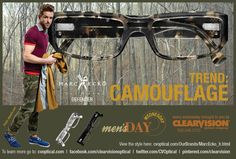 Eyewear Trends: Camouflage