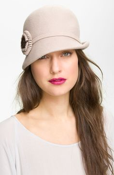 fd8fcaa2174 Nordstrom Felt Flower Cloche available at