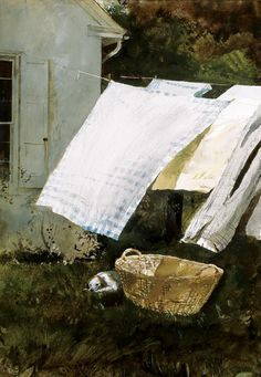 時間の心 — chasingtailfeathers: Andrew Wyeth … . . On the...