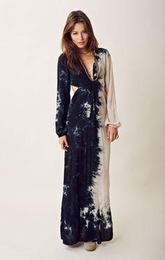 Blu Moon Long Sleeve Bell Twist Dress $165