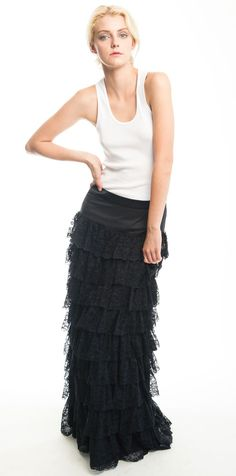 Petticoat skirt from Heidi Merrick
