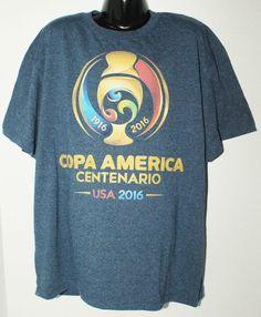 SOCCER COPA AMERICA & DISNEY LION KING THEME KIDS LARGE BLUE SHIRT OR WOMEN 2016 #PacificSports