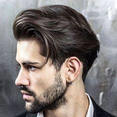 Short Sideburns + Beard
