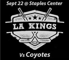 Head over to our #twitter account and follow the instructions for a chance to win! http://twitter.com/BarrysTickets #LosAngeles #Kings #Arizona #Coyotes #NHL #Hockey