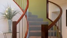 Image result for contemporary stair railings