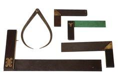 vintage carpentry drafting tools