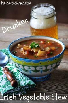 Irish vegetable beer stew