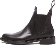 rag & bone Dartford Chelsea Leather Boots in Black