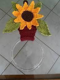 porta pano de prato em croche com graficos ile ilgili görsel sonucu