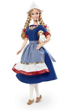 """Barbie. Colección """"muñecas del mundo"""". Holanda"""