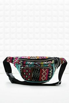 Neon Tapestry Bum Bag - Urban Outfitters