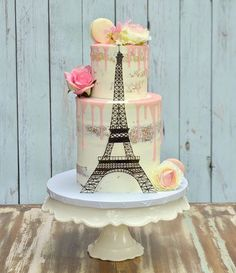 Birthday cake girls eiffel towers 50 ideas for 2019 16th Birthday Cake For Girls, Paris Birthday Cakes, Paris Themed Cakes, Dad Birthday Cakes, Paris Birthday Parties, Paris Cakes, Paris Party, Birthday Wishes, Teen Cakes