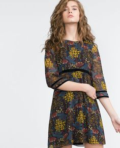 PRINTED DRESS-MUST HAVES-TRF | ZARA United States