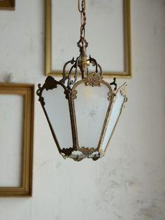 antique interior lighting lamp chandelier french home decor france アンティーク フランス インテリア シャンデリア クリスタル フレンチアンティーク ランタン