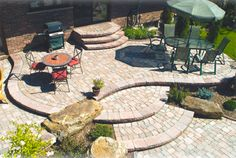 Stone Patio Designs Ideas Pictures for 2013