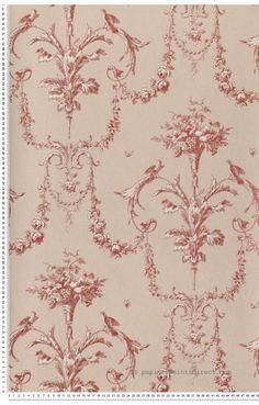 Papier Peint Baroque : papier peint direct, vente decoration murale et tapisserie murale de maison