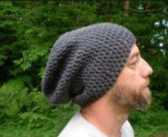 Mens beanie free crochet pattern sizes smallmedium and large free crochet slouchy beanie patterns for men avast yahoo image search results dt1010fo