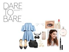 """""""DARE TO BARE ! """" by skylehenni ❤ liked on Polyvore featuring Loungefly, Charlotte Russe, Topshop, Casetify, REGALROSE, Lipsy, Chanel and Yves Saint Laurent"""