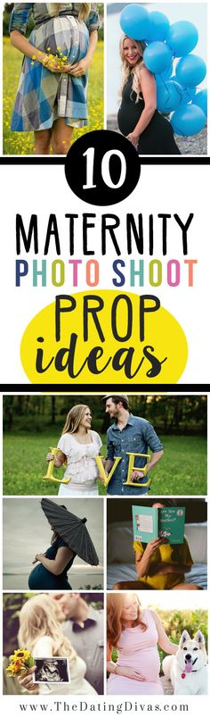 Maternity Photo Shoot Prop Ideas