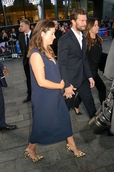 Amelia Warner Jamie Dornan, Celebrity News, Celebrity Style, Fifty Shades Of Grey, 50 Shades, Jaime Dornan, Bump Style, Eva Mendes, Irish Men