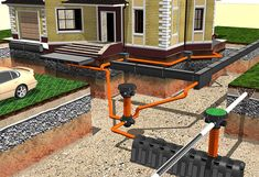 40 Trendy Home Improvement Garage House Garage House, My House, Home Design Diy, House Design, Septic Tank Systems, Rain Barrel, House Blueprints, Home Technology, Garage Design
