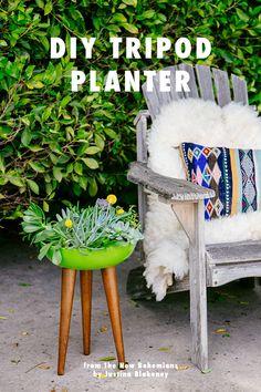 new bohemians justina blakeney tripod planter