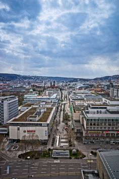 View of Stuttgart by Life on Manual, via Flickr