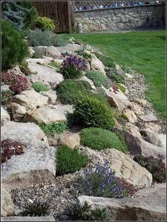 115+ wonderful front yard rock garden landscaping 31