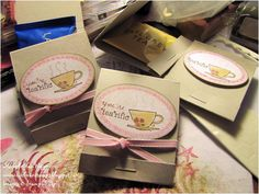 "Wedding favour  a ""Tea-riffic couple"" packaging @Vicki Smallwood Smallwood Bower I can see you doing this :)"