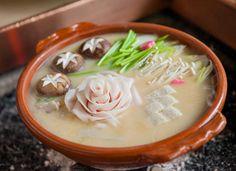 Kyoto Restaurant 'Hatakaku' – Botan Nabe (Wild Boar Hotpot)   Botan Nabe - The 'Fat' Flower