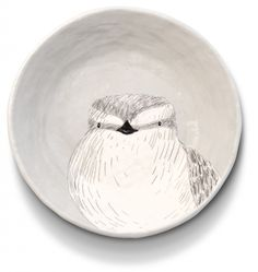 There's an owl in my soup – Ceramics by Gemma Orkin Ceramic Houses, Ceramic Clay, Ceramic Plates, Plate Design, Bird Design, Pottery Painting, Pottery Art, Plate Art, Pretty Hands