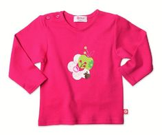 Zutano Long Sleeve Screen T Shirt Apples 12 18 Months * Be sure to check out this awesome product. (This is an affiliate link) #BabyGirlTops