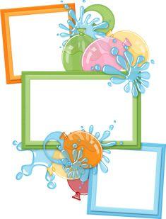 Scrapbook Borders, Scrapbook Cards, Boarders And Frames, Frame Border Design, School Frame, Kids Background, Powerpoint Background Design, Framed Wallpaper, Cute Frames