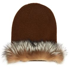 Easy DIY - although I've never sewn with fur. Can't wait to give it a try. Max-Mara-Fur-Trimmed-Hat