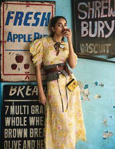 Hourglass Minutes www. vogue .in Photography: Hashim Badani Model: Meenakshi Rathore & Ilana Davies Styling: Priyanka K...
