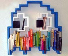Pac-Man Ghost Bookshelf