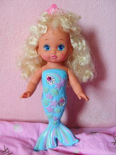 I had her too!! & man her hair got soooo nappy after so many baths lol