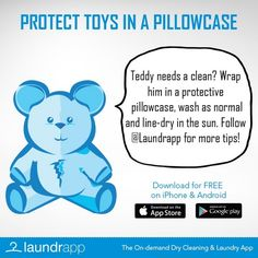 Another Laundry Day Lifehack to keep your toys soft and cuddly!