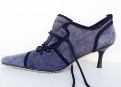 Gossip. Women&39s kitten heel pumps with round toe look glitter
