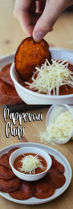These Pepperoni Chips are the perfect low carb, keto replacement to the perfect crunchy snack!