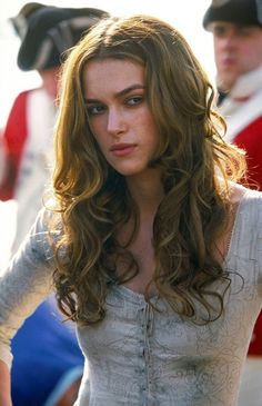 "Keira Knightley portrays the character of Elizabeth Swan in the ""Pirates of the Caribbean"" movies....."