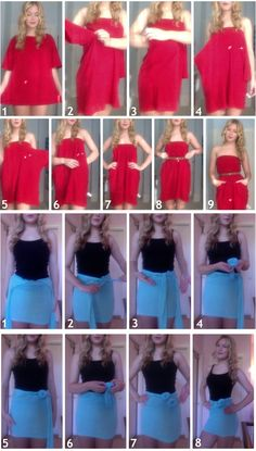 DIY Quick Pocket Dress