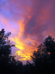 Sunset in the mountains after the rain. Photo by Miriam Joy