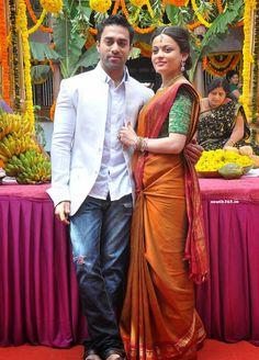 Navdeep and Sneha Ullal at Antha Nee Mayalone Telugu Movie Unit Press Meet (3) at Antha Nee Mayalone Movie Lead Pair at Press Meet  #SnehaUllal