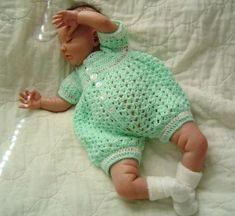 Baby Onesis Crochet Romper Patterns | Rompers