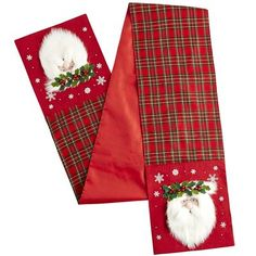 Santa Table Runner From Pier 1 Imports Saved To Christmas Time More Products On Wanelo